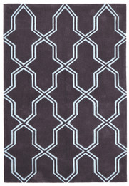 Neo Lattice Design Rug Smoke (ux)