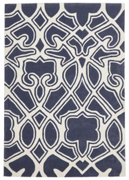 Gothic Tribal Design Rug Slate (ux)