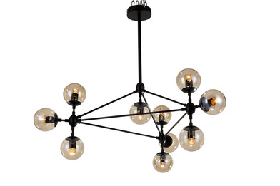 Modern Iron Lamp - 10 Shades
