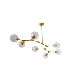 Replica Lindsey Adelman Bubble chandelier - 7 heads