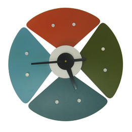 Replica George Nelson Petal Clock - multicolour
