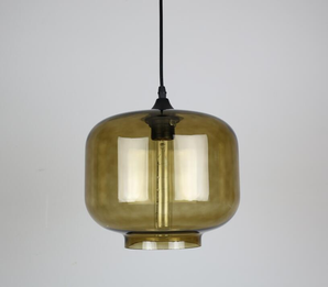 Modern Glass Square Lamp
