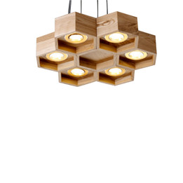 Wooden Lamp - Small