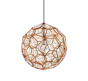 Replica Tom Dixon Web Pendant - Rose Gold