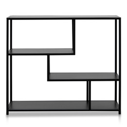 CDT2644-KL Black Metal Industrial Shelving Unit (cf)