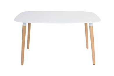 Cleveland Dining Table - White