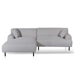 Jasleen Left Chaise Sofa - Sterling Sand (cf)