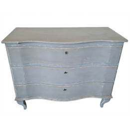 Chest Of Drawers  - Distressed Blue