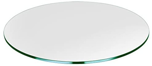 Ex Display - Clear Glass Top - 80cm - CLEARANCE