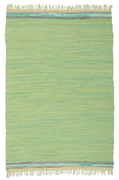 Boho Whimsical Rug Green (ux)