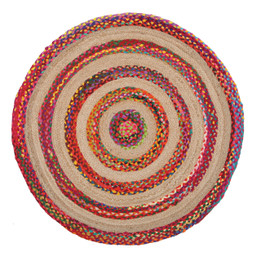 April Target Cotton and Jute Rug Multi (ux)