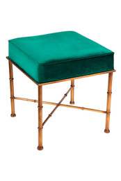 Clara Stool - Emerald Green (cl)