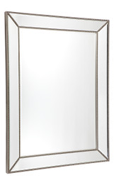 Zeta Wall Mirror - Large Antique Silver (cl)