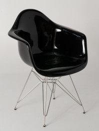 Replica Charles Eames DAR Eiffel Armchair - fibreglass, chrome legs - various colours
