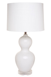 Bronte Table Lamp - White (cl)