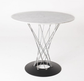 Replica Noguchi Cyclone Dining Table-Marble Top size 80cm