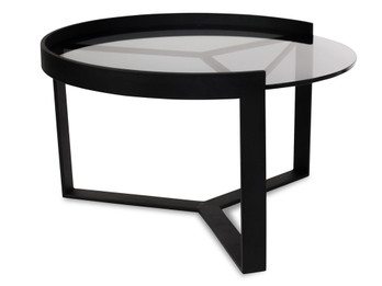 CCF387-M 70cm Glass Coffee Table - Medium (cf)