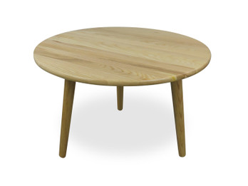CCF430 66cm Round Coffee Table - Natural (cf)