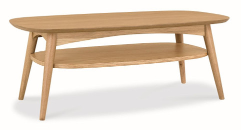 CCF690-VN Scandinavian 109cm Coffee Table - Natural (cf)