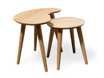 CCF693N-VN Nest of Side Tables - Natural (cf)