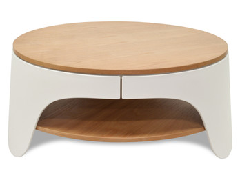 CCF921 82cm Round Coffee Table (cf)