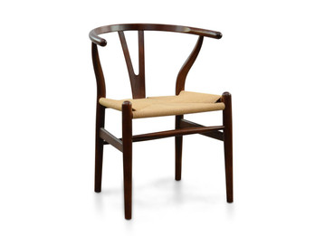 CDC124 Dining Chair - Walnut (cf)