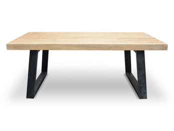 CDT051 2.4m Reclaimed Elm Wood Dining Table (cf)
