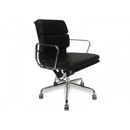 COC103  Soft Pad Boardroom Office Chair - Black (cf)