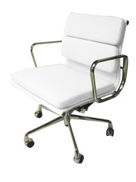 COC103W Soft Pad Boardroom Chair - White (cf)