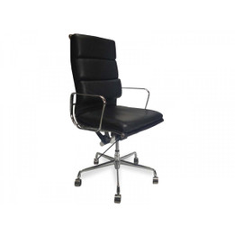 COC104  Soft Pad Office Chair - Black (cf)
