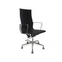 Replica Eames High-Back & Ribbed-Back Office Chair - Premium Limited Edition Italian Leather - various colours