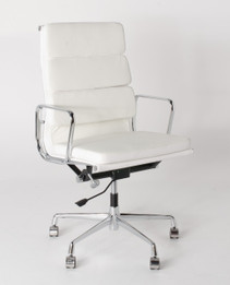 Replica Eames High-Back & Cushion-Back Office Chair - Premium Limited Edition Italian Leather - various colours