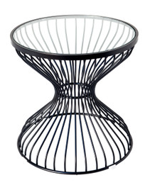 Replica Wire lamp table-powdercoated black