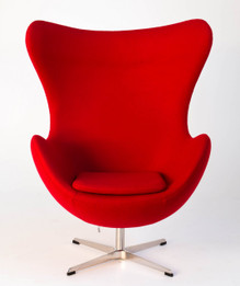 Replica Egg Chair-Red