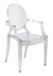 Replica Louis Ghost Chair - Transparent Clear