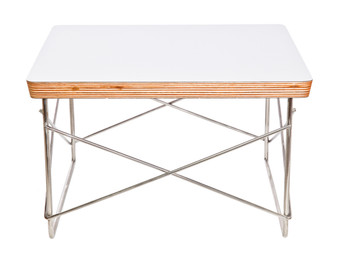 Replica Eames Wire Table-white top