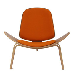 Replica CH07 Shell Chair - Various Frames and Cushions