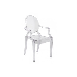 Replica Louis Ghost Chair for KIDS - Transparent Clear