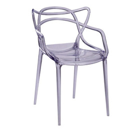 Replica Phillipe Starck Masters Chair - transparent & shiny colours