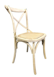 Cross Dining Chairs - American Oak - Light Oak Finish