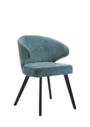 Annika Dining Chair Wood/Linen (iv)
