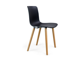 Jasper Morrison Hal Chair - Replica - Black