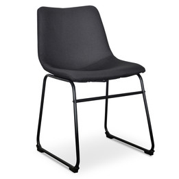 DC2009-SE - Dining Chair in Black (Set of 2) (cf)