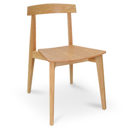 CDC810-DR Dining Chair - Natural (cf)