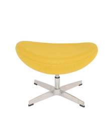 Replica Egg Footstool - Yellow