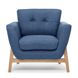 CLC2075 Armchair - Navy Blue (cf)