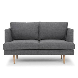 CLC2076 2 Seater Sofa - Metal Grey (cf)