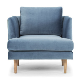 CLC2077 Armchair - Dust Blue (cf)
