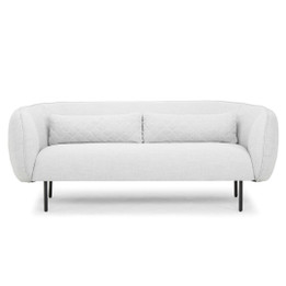 CLC808  3 Seater Sofa in Light Texture Grey (cf)