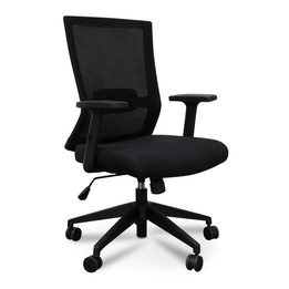 COC501Mesh Boardroom Office Chair - Black (cf)